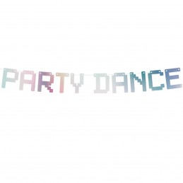 Banner Iridiscent Party Dance