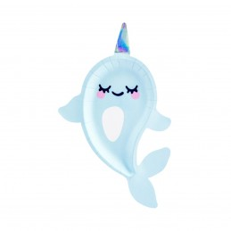 Set 6 platouri Narwhal Party 29 cm