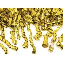 Tun confetti streamers aurii 40 cm