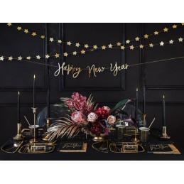 Banner Happy New Year Auriu