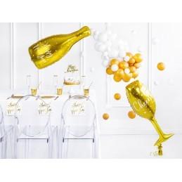 Balon Sticla Sampanie Aurie New Year