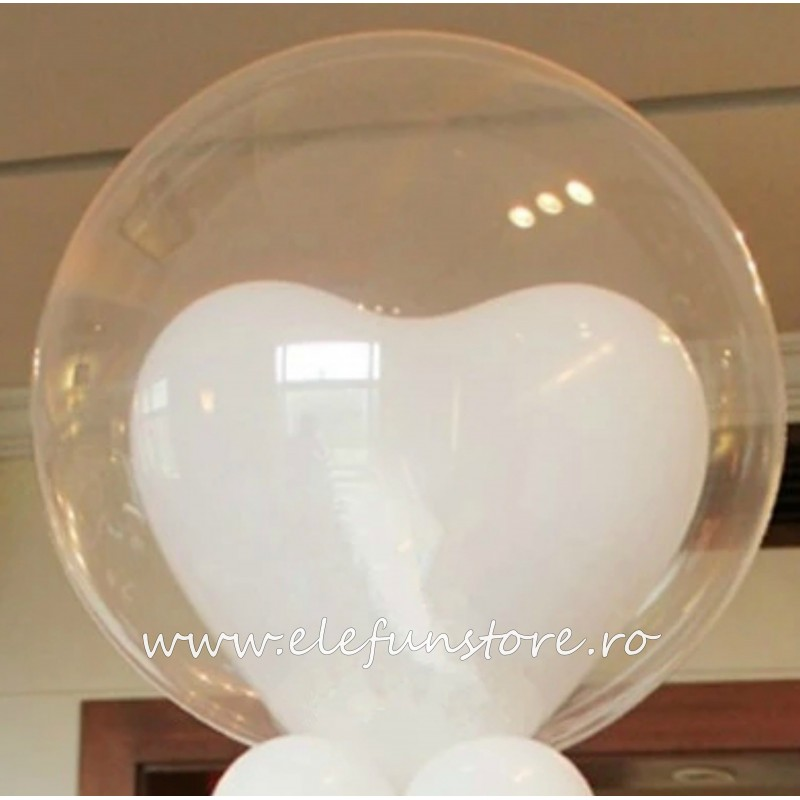 Balon BOBO Transparent 25 cm