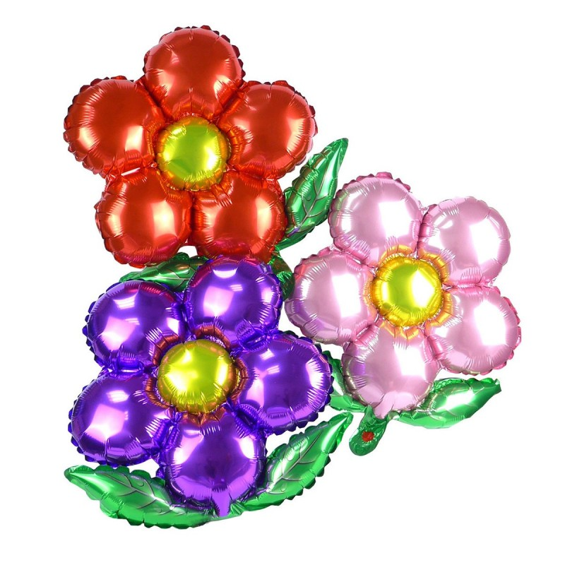 Balon Floare Mov 50cm