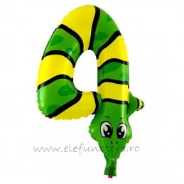 Balon Cifra 4 Sarpe 45 cm