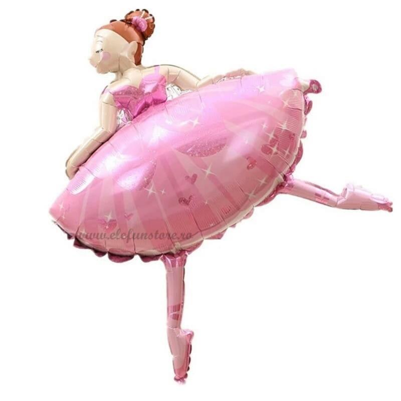 Balon Balerina Roz 100cm