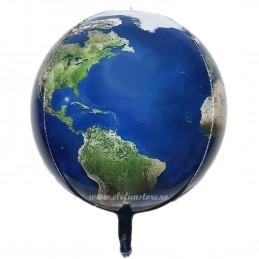 Balon Sfera 3D Glob Pamantesc 60cm