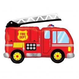 Balon Figurina Masina de Pompieri 87cm