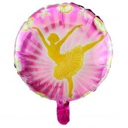 Balon Rotund Balerina