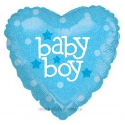 Balon Inima Baby Boy
