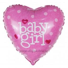 Balon Inima Baby Girl