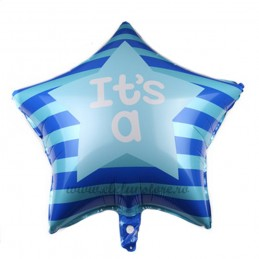Balon Stea Bleu IT'S A ... 60cm
