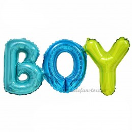 Balon Scris BOY Asortat