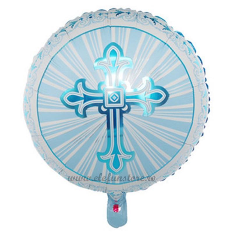 Balon Rotund Cruce Bleu