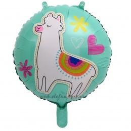 Balon Llama Party Turcoaz