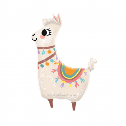 Balon Mini Alpaca - Llama Party