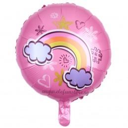 Balon Rotund Curcubeu