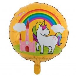 Balon Castelul Unicornilor Galben