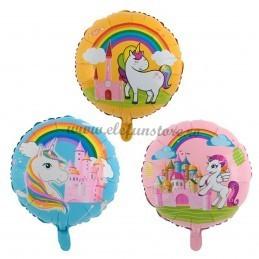 Balon Castelul Unicornilor Roz