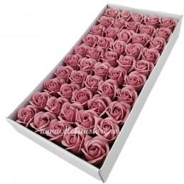 Set 50 Trandafiri de Sapun Roz Vintage