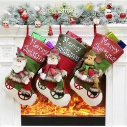 Soseta Santa Claus Pentru Cadouri de Craciun