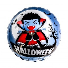 Balon Rotund Vampir Halloween