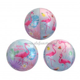 Balon Sfera 3D Flamingo