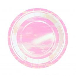 Set 6 farfurii Iridiscente 23 cm