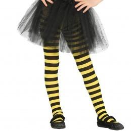 Ciorapi cu dungi galbene 5-9 ani