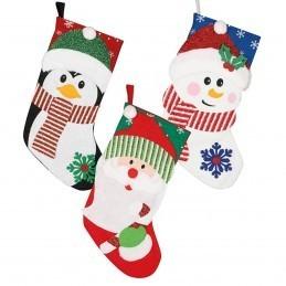 Soseta Snowman Pentru Cadouri de Craciun