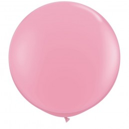 Balon Jumbo Roz Deschis 100 cm