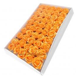 Set 50 Trandafiri de Sapun Portocalii