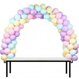 Arcada baloane pentru masa 4m