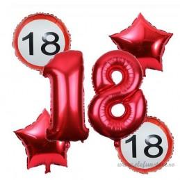 Set Cifre 18 Rosii 100 cm Majorat