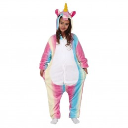 Pijama Kigurumi Unicorn, onesie copii 10-12 ani