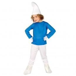 Costum Strumf copii 7-9 ani