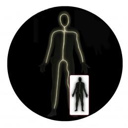 Costum Spandex Luminat, unisex adult