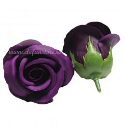 Set 50 Trandafiri de Sapun Royal Blue