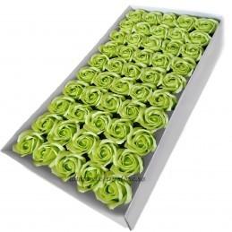 Set 50 Trandafiri de Sapun Verzi