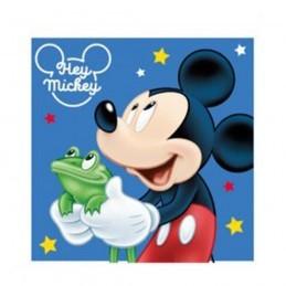 Prosop Mickey Mouse Albastru 30*30 cm