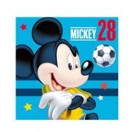 Prosop Mickey Mouse Fotbal Bleu 30*30 cm