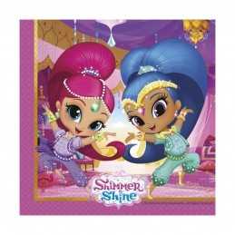 Set 20 servetele Shimmer si Shine