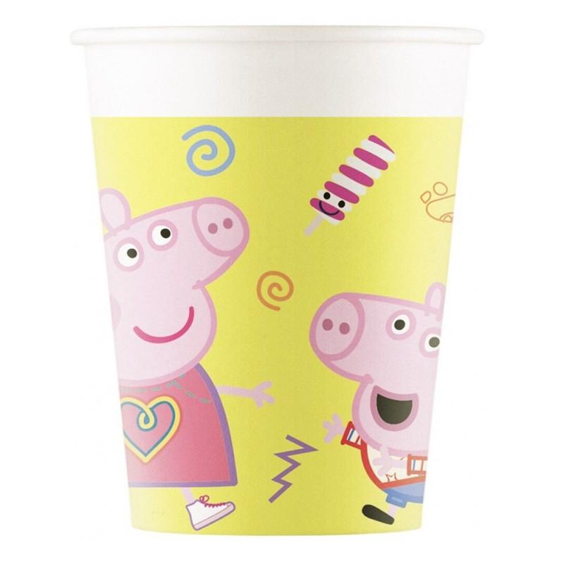 Set 8 pahare Peppa Pig