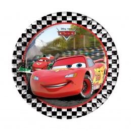 Set 8 farfurii Cars 23 cm