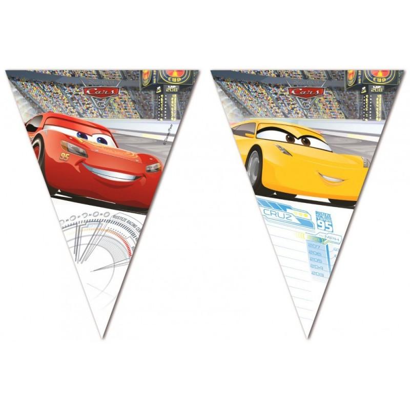 Banner Stegulete Cars 2.3m