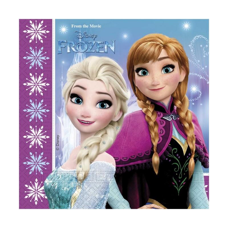 Set 20 servetele Frozen