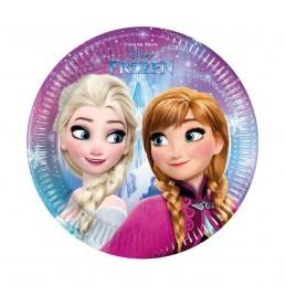 Set 8 farfurii Frozen 20 cm