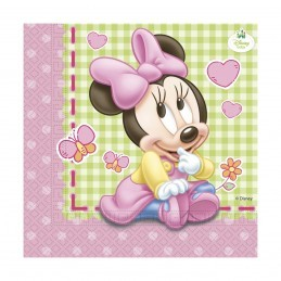 Set 20 servetele Baby Minnie Mouse