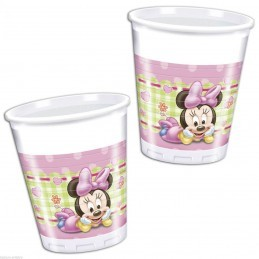 Set 8 pahare Baby Minnie Mouse