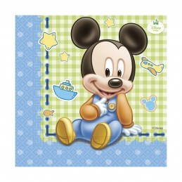 Set 20 servetele Baby Mickey Mouse