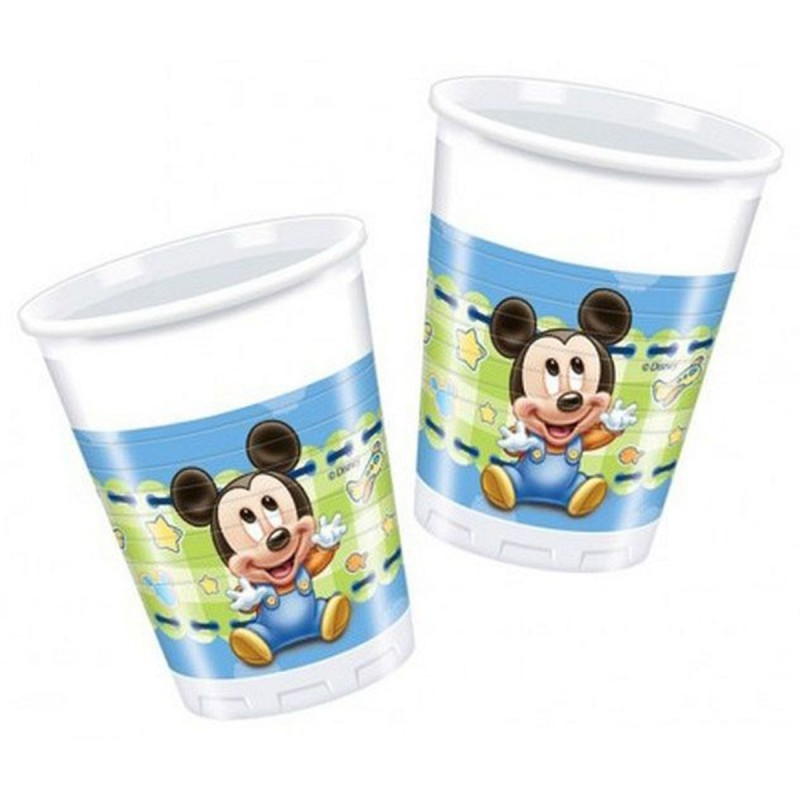 Set 8 pahare Baby Mickey Mouse
